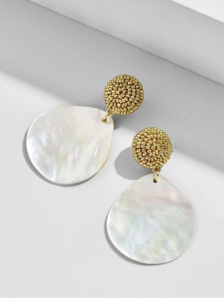 df7a8733fa1e9 Jewelry - Baublebar Mother Of Pearl Drop Earrings #2866099 - Weddbook