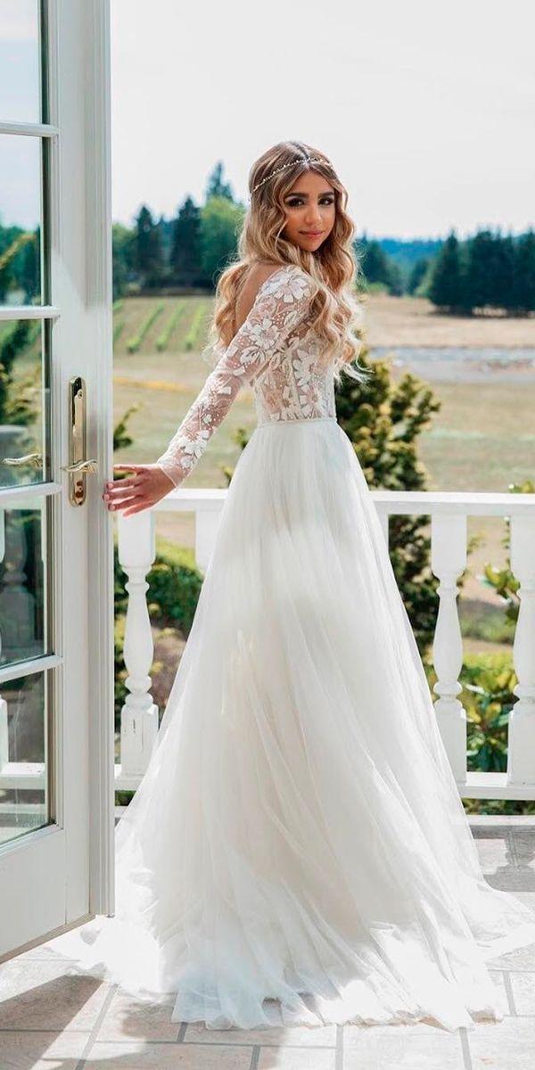 Wedding - 30 Cute Modest Wedding Dresses To Inspire
