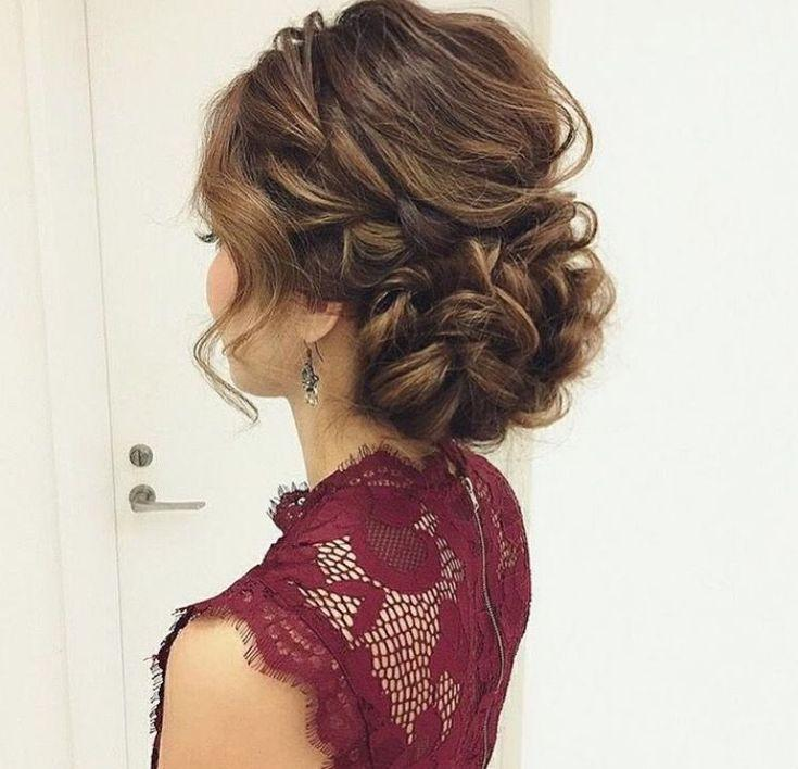 Mariage - I Love The Elegance And Whimsical Elements Of This Updo #weddingmakeupandhair