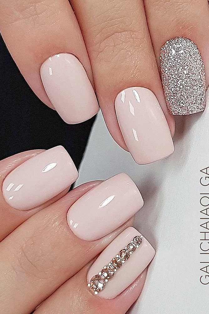 Wedding - 36 Exquisite Ideas Of Wedding Nails For Elegant Brides