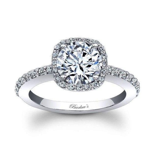 Mariage - Brilliant > 18ct White Gold Diamond Ring Ebay #nice