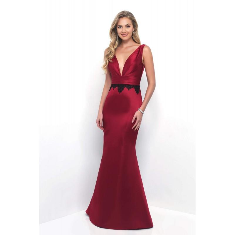 Wedding - Style 4266 by Alexia Bridesmaids - Satin Low Back  V-Back Floor Plunge  V-Neck Bridesmaids Dresses - Bridesmaid Dress Online Shop