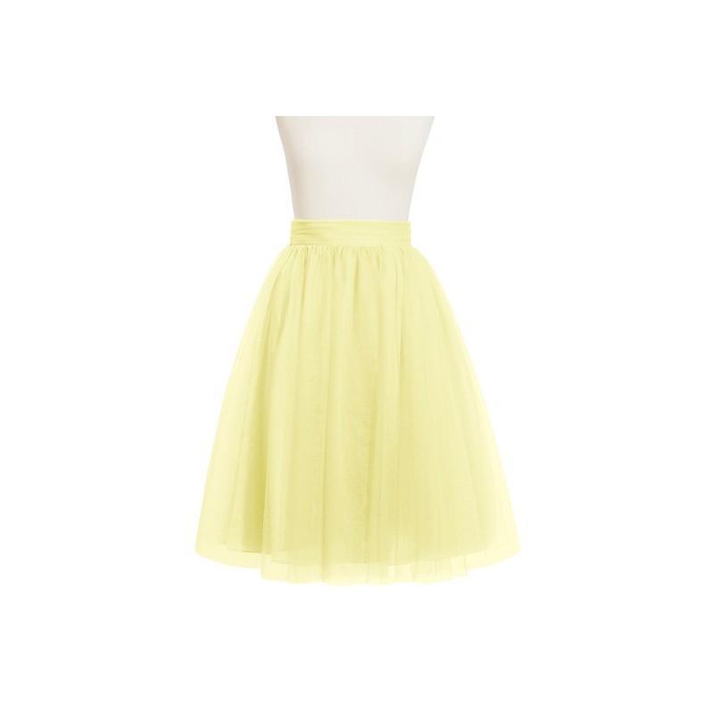 1101a05c59d Daffodil Azazie Sylvie - Knee Length Tulle Dress - Simple Bridesmaid  Dresses   Easy Wedding Dresses