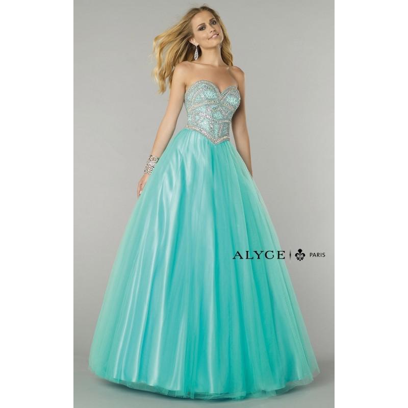 Wedding - Capri Alyce Paris 6369 - Ball Gowns Corset Back Dress - Customize Your Prom Dress