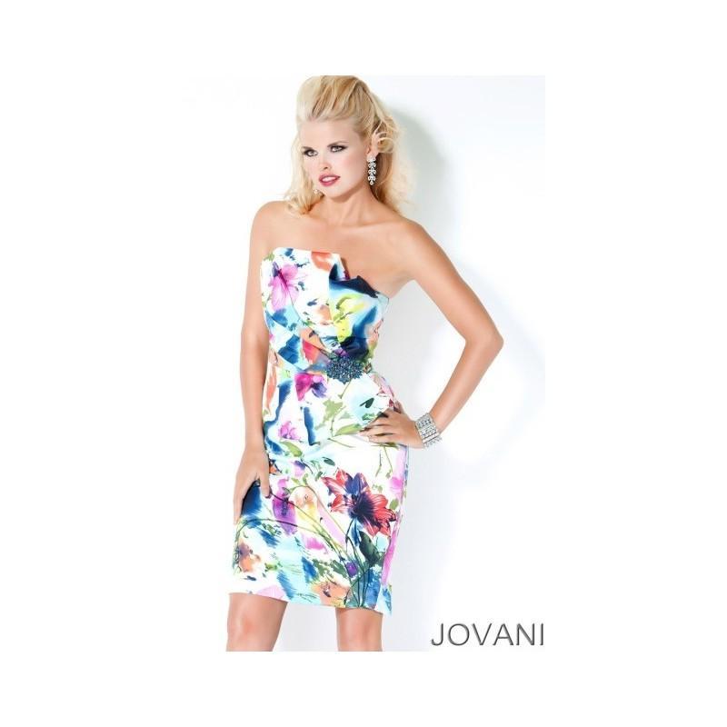 Wedding - Jovani Short Prom Dress 685 - Brand Prom Dresses