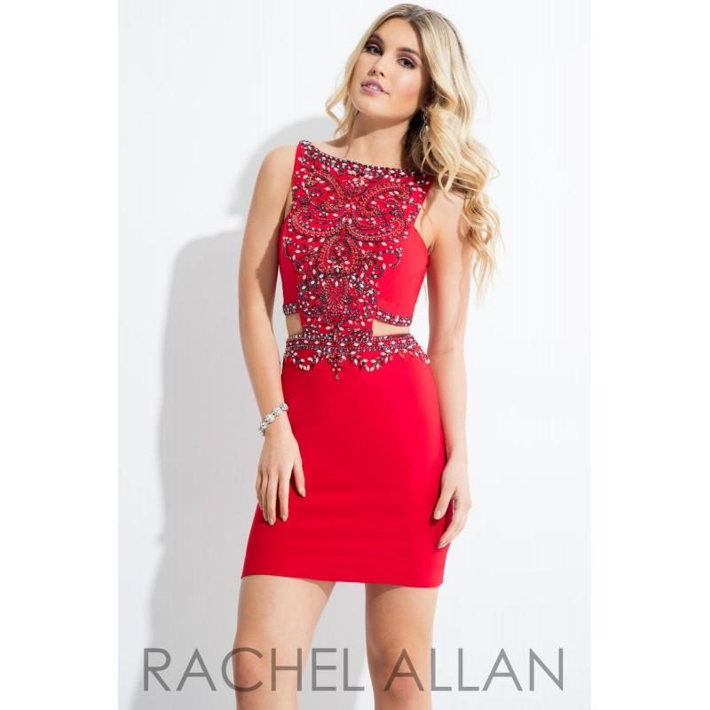 Wedding - Red Rachel Allan Shorts 4269 Rachel ALLAN Short Prom - Rich Your Wedding Day