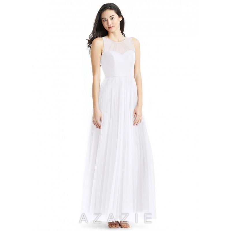 94f22a884ef White Azazie Denise - Simple Bridesmaid Dresses   Easy Wedding Dresses