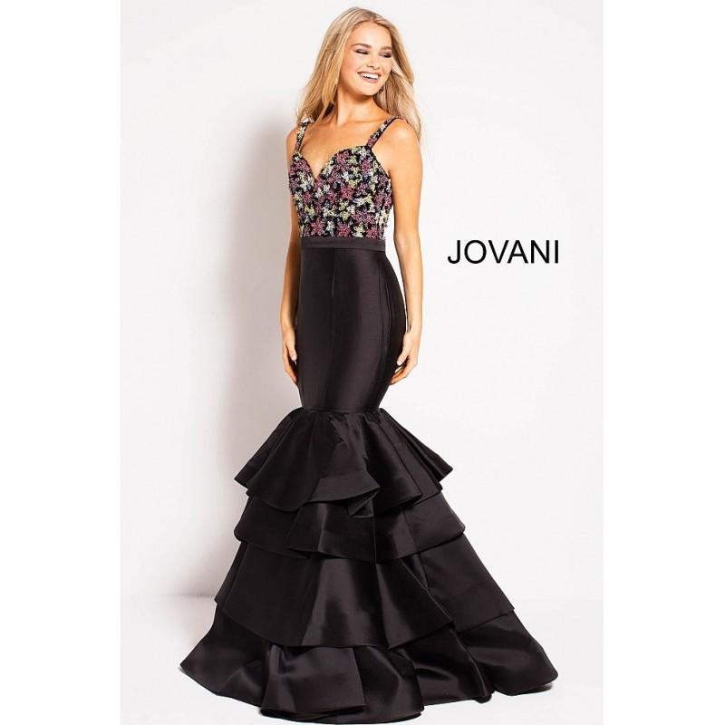 Jovani 48127 Tiered Trumpet Style Prom Dress 2018 New Wedding