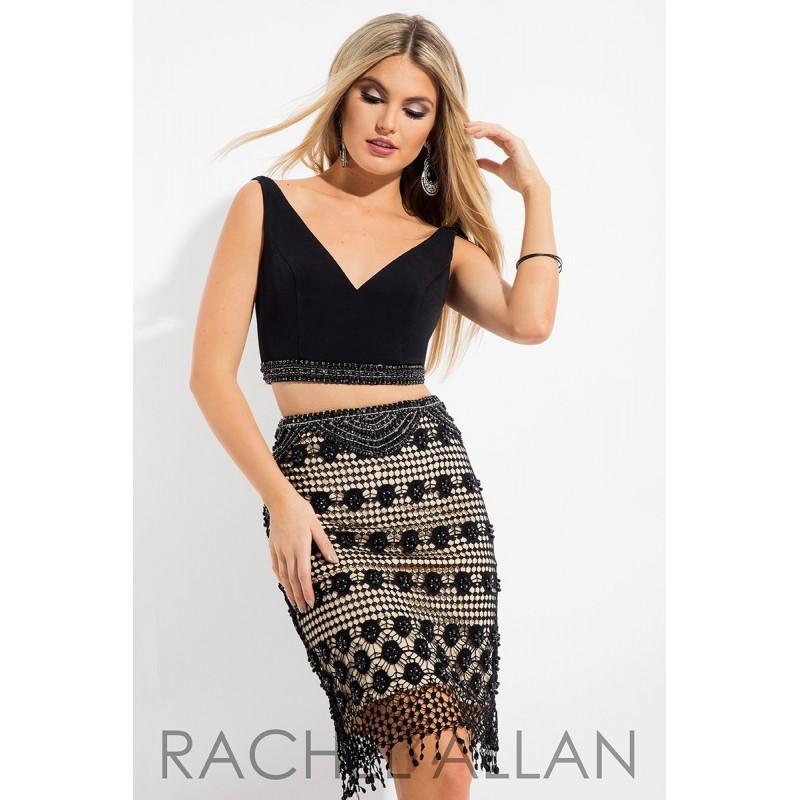 Hochzeit - Rachel Allan 3069 Cocktail Dress - 2018 New Wedding Dresses