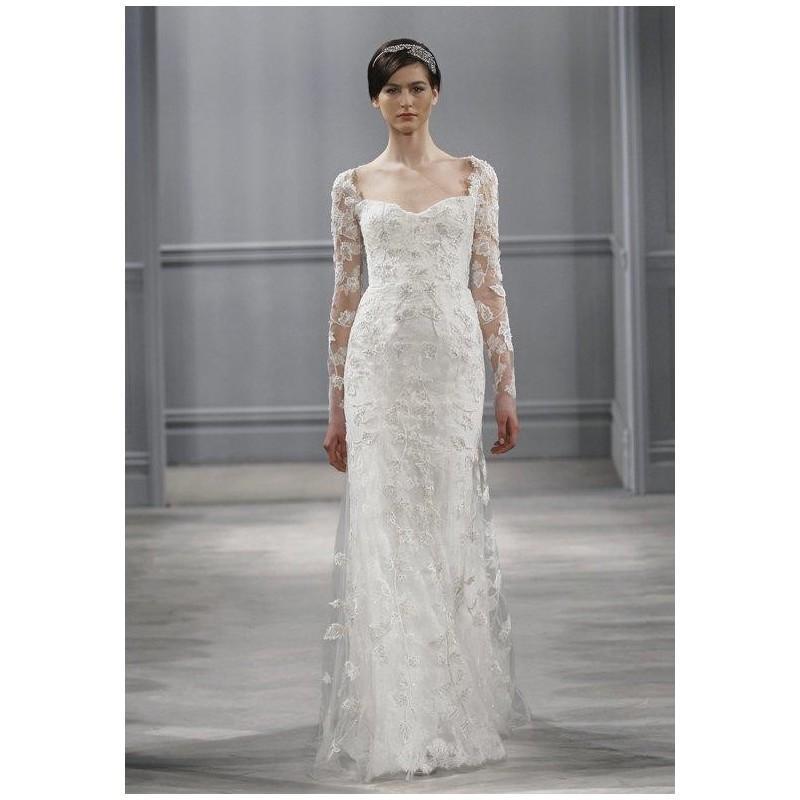 Hochzeit - Monique Lhuillier Leaticia Wedding Dress - The Knot - Formal Bridesmaid Dresses 2018