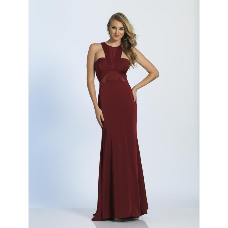 Hochzeit - Dave and Johnny A4072 Jersey Gown with Racer Back - Brand Prom Dresses