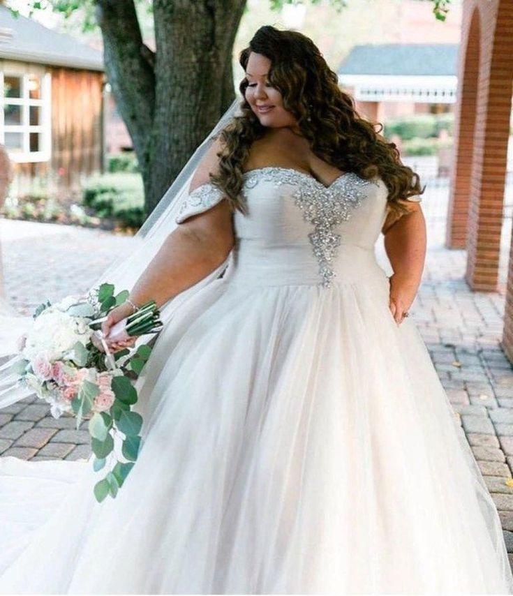 زفاف - Stylish Plus Size Wedding Dresses Inspirations Ideas 28