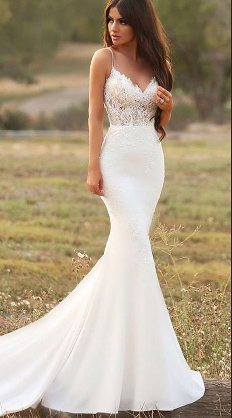 Свадьба - Lindos Vestidos E Inspirações Para As Noivas Utilizarem Em Seu Casamento.  Fotografia Especializada Casamentos Denis Silveira Fotografia #casamento…