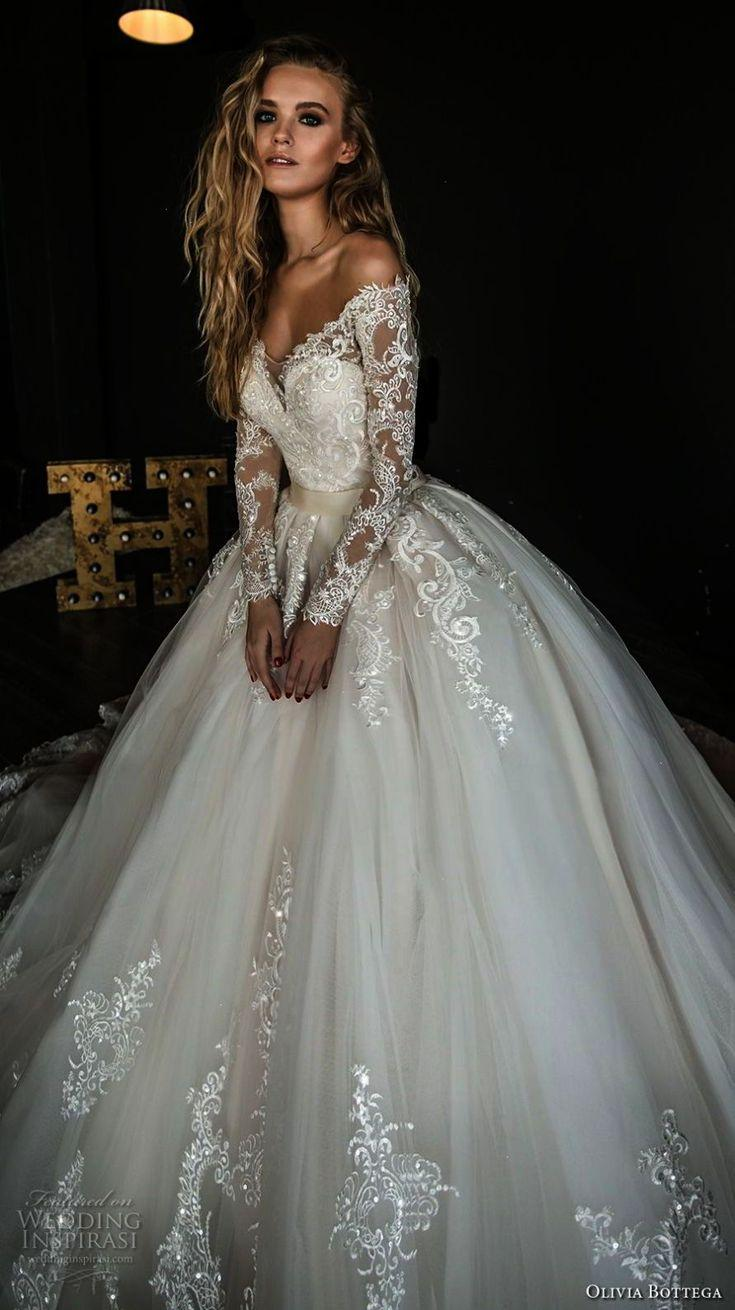 Wedding - Incredible - Beaded Lace A Line Wedding Gown!!