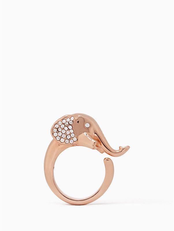Mariage - Kate Spade Things We Love Elephant Ring