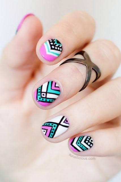 زفاف - Short Nail Ideas - Nails, Toenails, Hair, Tattoo Art, Trends!