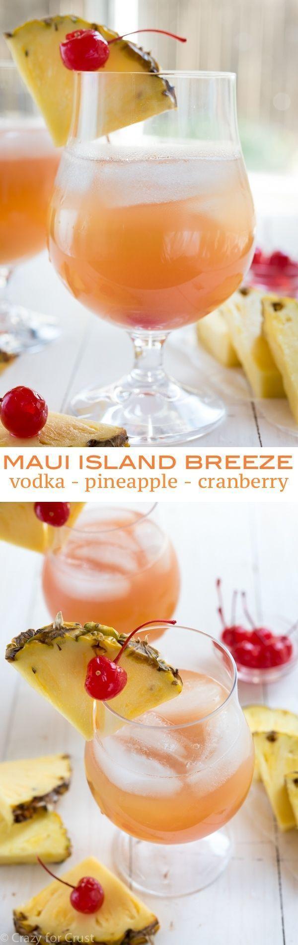 Hochzeit - Maui Island Breeze Cocktail