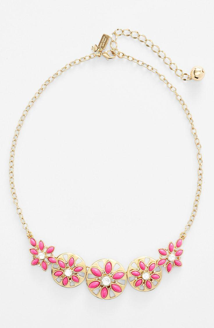 زفاف - Loving This Ultrafemme Gold-plated Kate Spade Necklace.