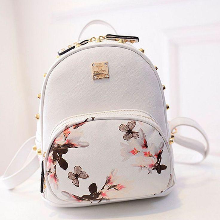 Wedding - New Girl School Bag Travel Cute Backpack Satchel Women Shoulder Rucksack GYFU