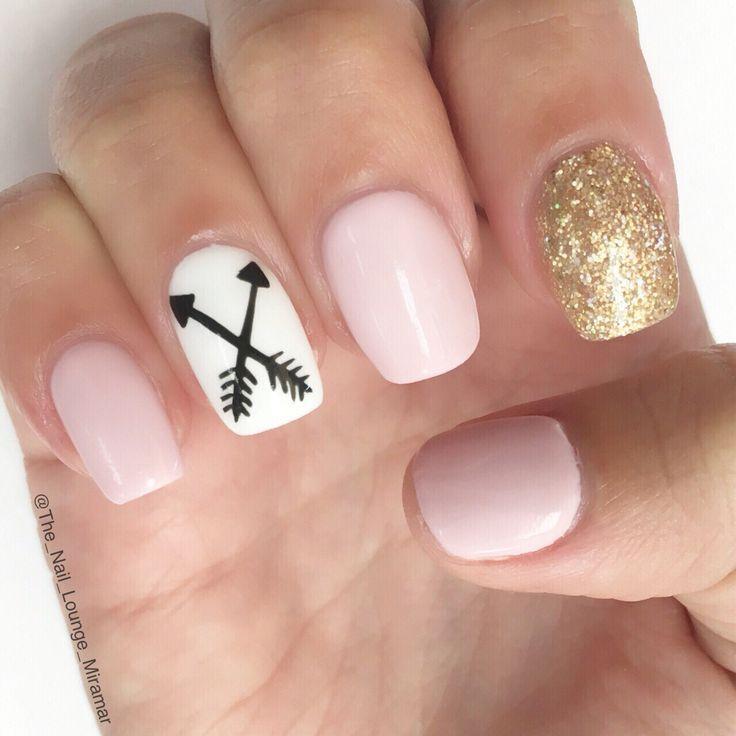 Свадьба - Arrow Nail Art Design... - Pepino Nail Art Design