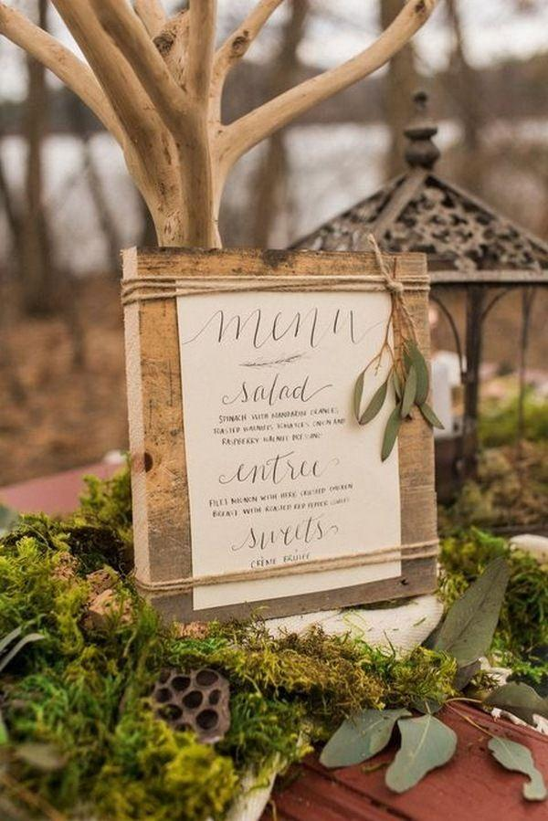 زفاف - 34 Enchanting Woodland Wedding Ideas That Inspire - Page 2 Of 4