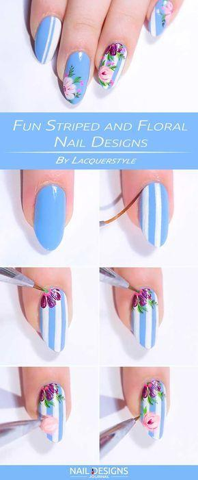 زفاف - Fun Nail Designs That Are Easy To Do At Home