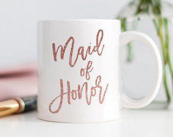 Hochzeit - 'Maid Of Honor,' Mug