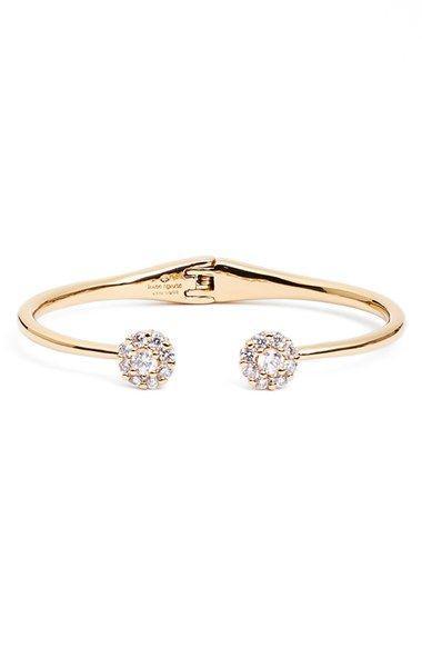 زفاف - Kate Spade New York 'flower' Hinge Wrist Cuff