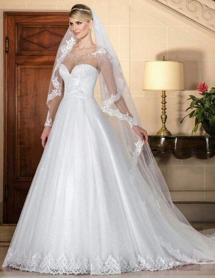 Hochzeit - Wedding Dress And Veil
