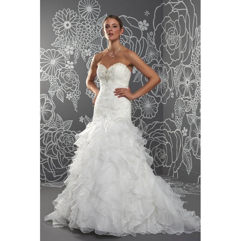Luciana By Romantica Of Devon Organza Floor Sweetheart Strapless