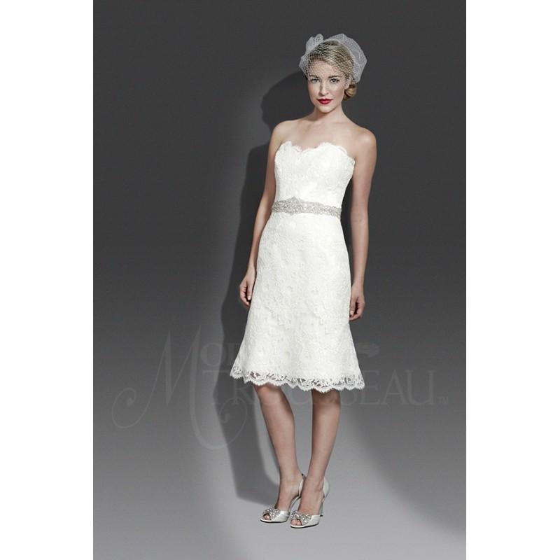 Hochzeit - Modern Trousseau Delilah -  Designer Wedding Dresses