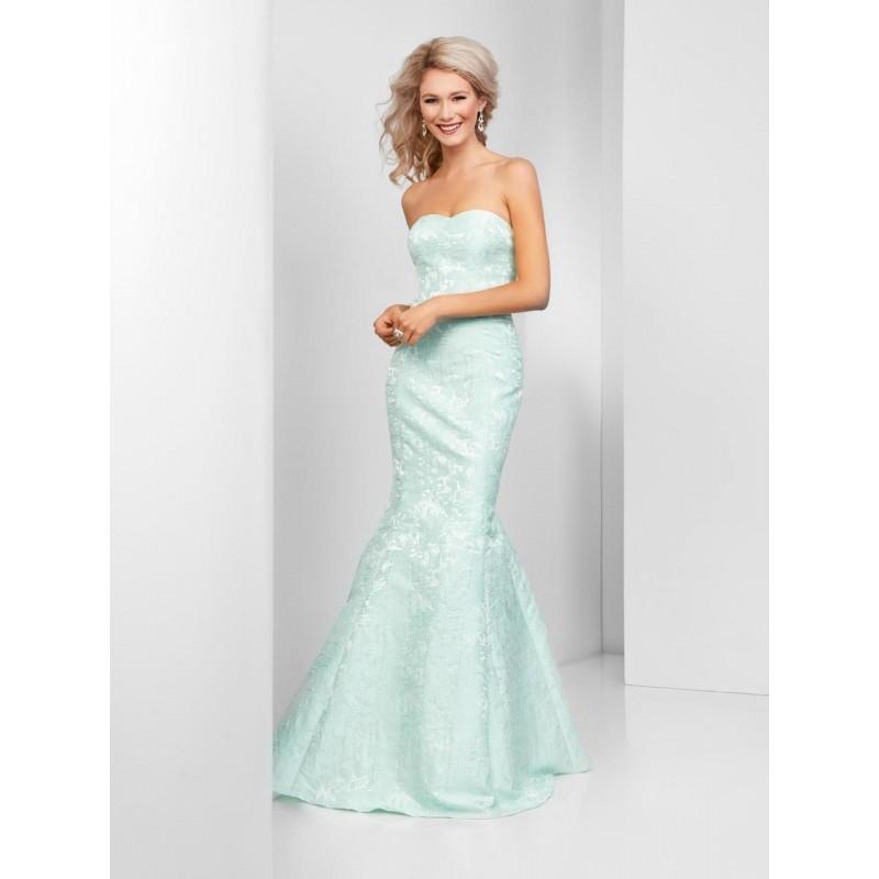 Wedding - Clarisse - 3415 Floral Semi-Sweetheart Mermaid Dress - Designer Party Dress & Formal Gown