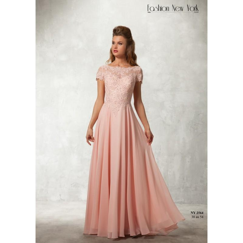 Mariage - Robes de cocktail Fashion New York - NY-2564 - Robes de mariée France
