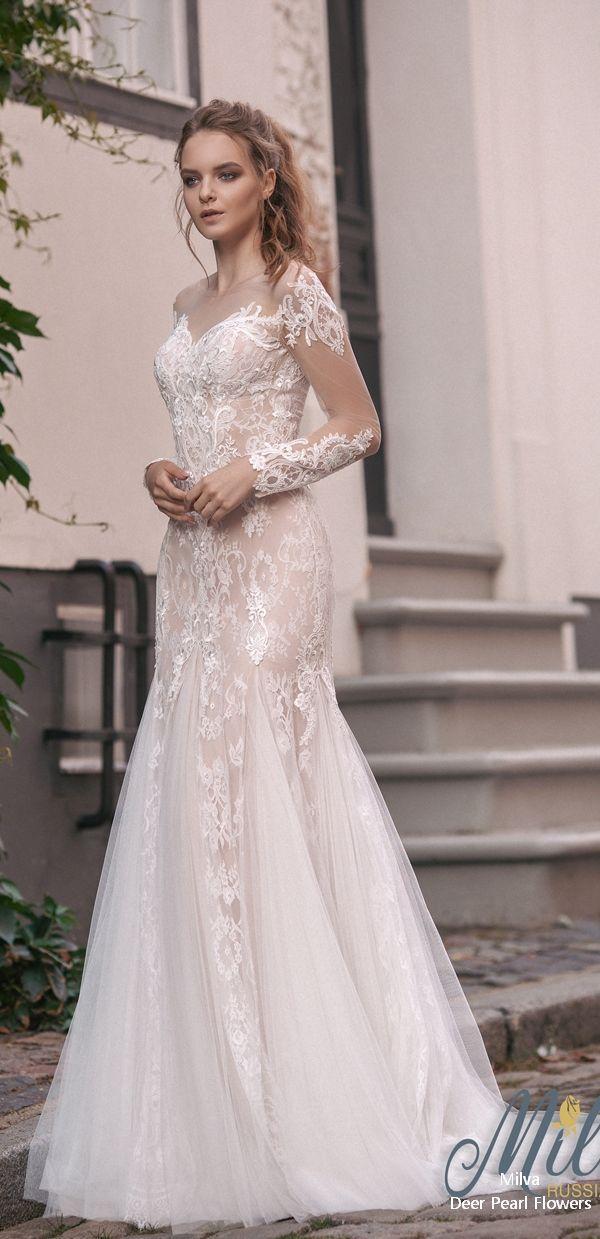 Wedding - We Love: Milva Wedding Dresses 2018 & 2019 Collection