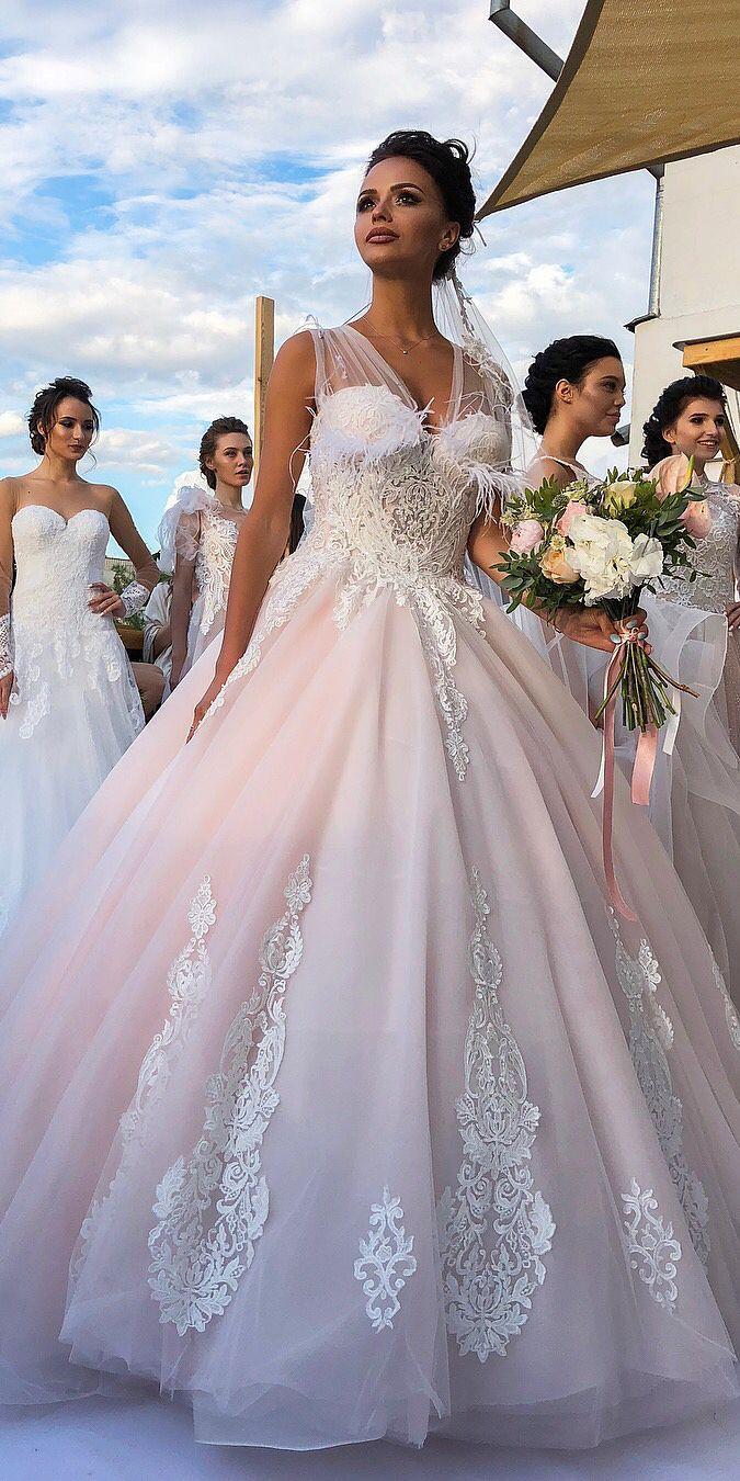 Wedding - Victoria Soprano Wedding Dresses 2019 - Love In Paris Collection #weddings #dresses #weddingdresses #weddingideas #bridaldresses #la…