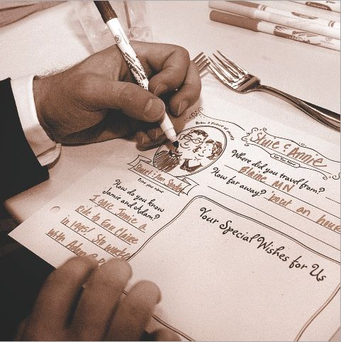 زفاف - A Guestbook Alternative That's Way More Than Just A Blank Page