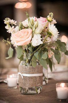 Mariage - Composition Florale Champêtre