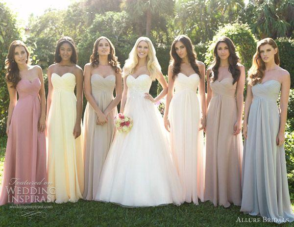 Hochzeit - Allure Bridals Fall 2012 Collections — Sponsor Highlight