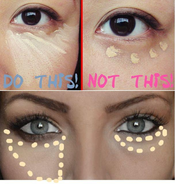 Wedding - How To Properly Apply Under Eye Concealer