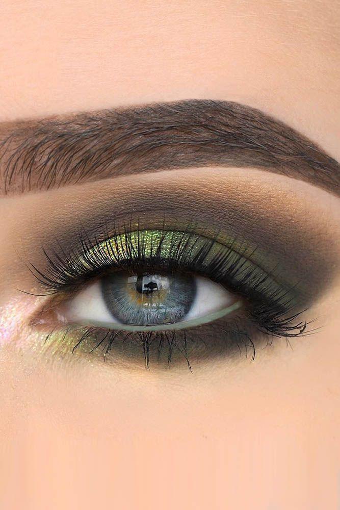 Свадьба - 30 Wedding Makeup Ideas For Blue Eyes
