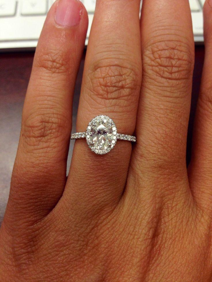 Wedding - Image Result For Oval Diamond Ring