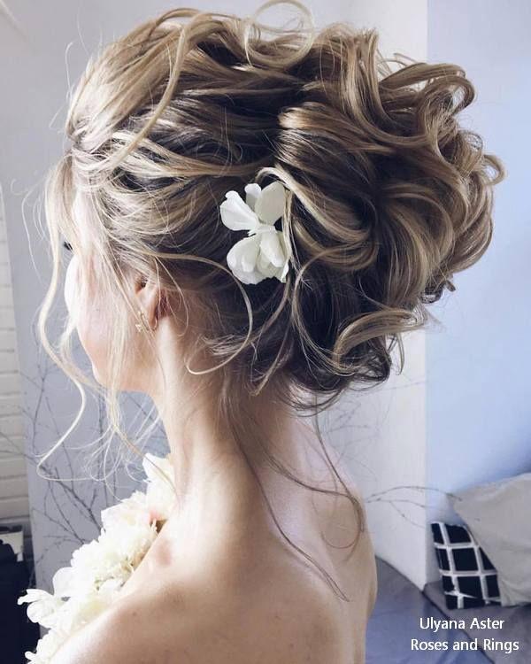زفاف - 20 Ulyana Aster Long Wedding Hairstyles And Updos