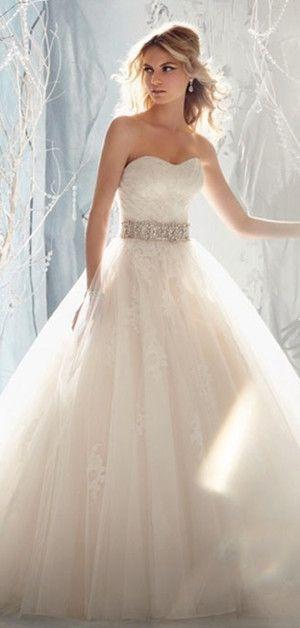 زفاف - Wedding Dress Wedding Dresses! Oh How This Is Gonna Be Mine