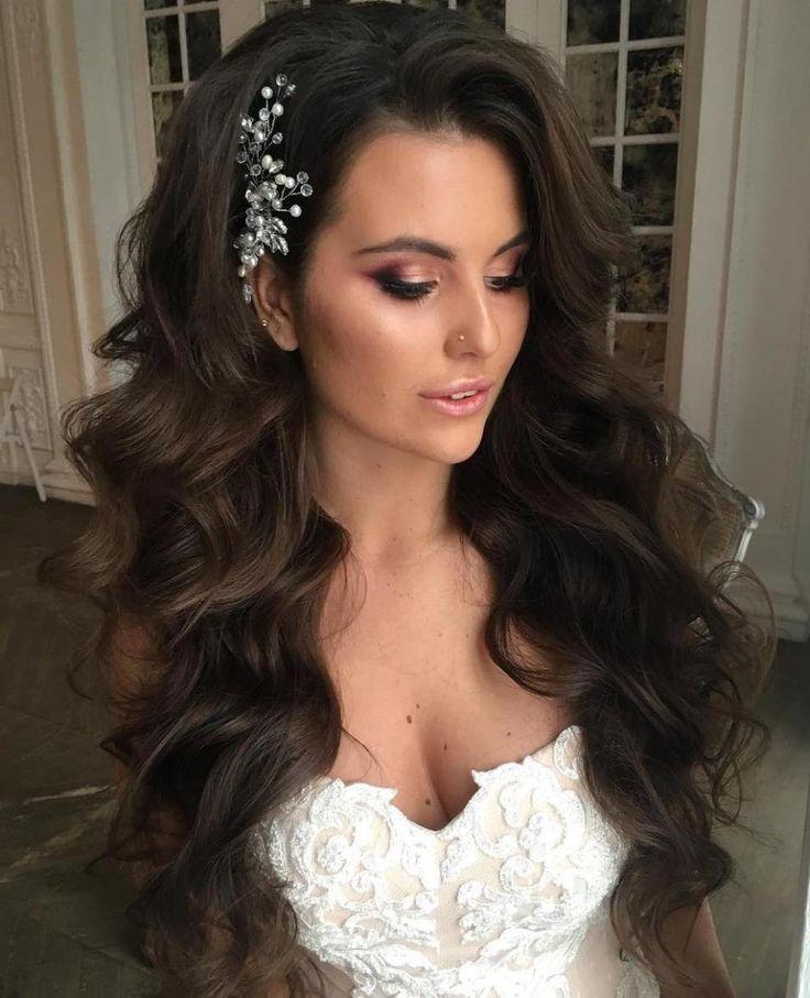 زفاف - 40 Gorgeous Wedding Hairstyles For Long Hair