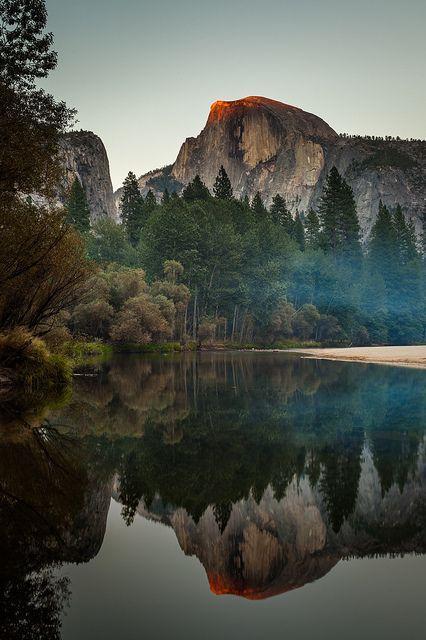 زفاف - Half Dome Reflection