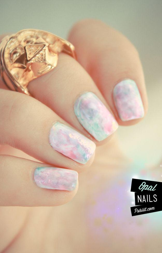 زفاف - 24 Delightfully Cool Ideas For Wedding Nails