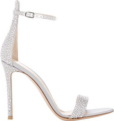 Wedding - Embellished Glam Ankle-Strap Sandals