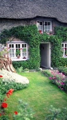 زفاف - Quaint Cottage In Adare, Co. Limerick, Ireland • Photo: The Illustrated Dublin Journal On Button Willow Chronicles