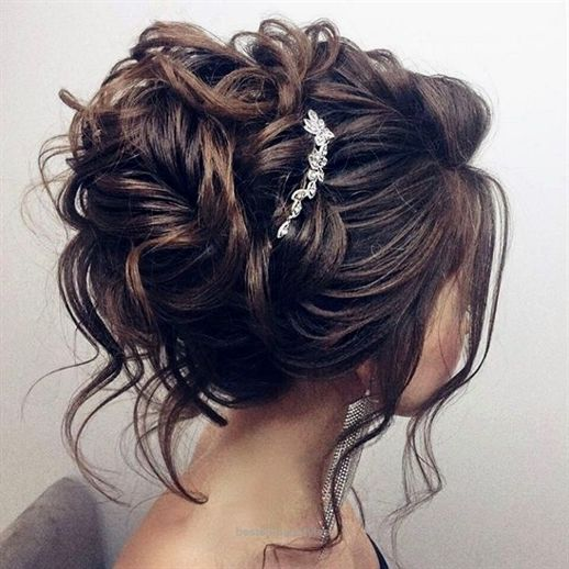 زفاف - Awesome Beautiful Updo Wedding Hairstyle For Long Hair