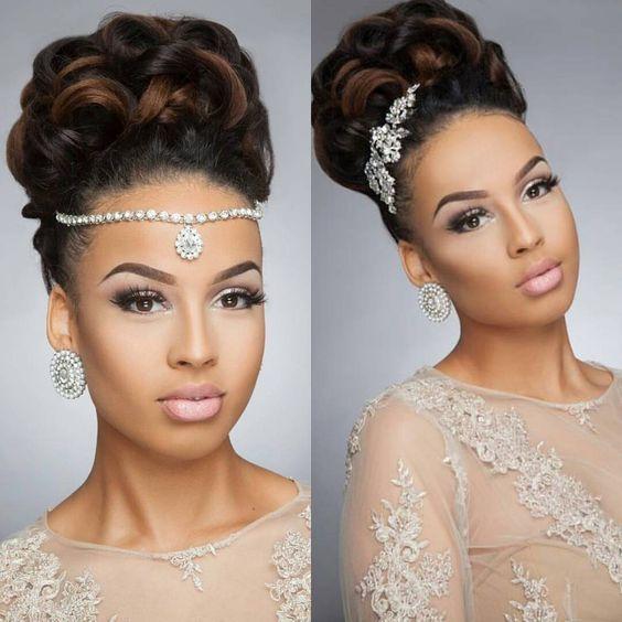 Свадьба - 43 Black Wedding Hairstyles For Black Women